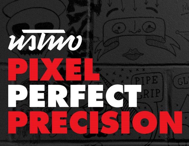 Pixel perfet precision