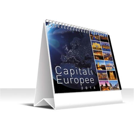 Calendario 2016 da tavolo 16x17 5 capitali europee - Calendario 2017 da tavolo ...